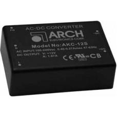 AKC-5S12D Triple Output AC / DC Power Supply