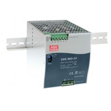 SDR-960-24 DIN Rail Industrial Mean Well Power Supply