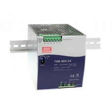 TDR-960-24 DIN Rail Industrial Mean Well Power Supply